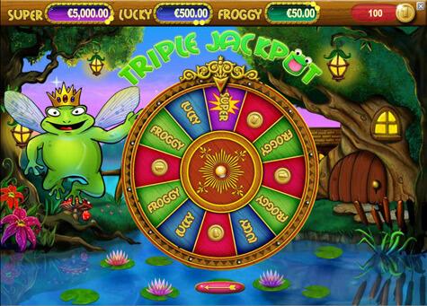 Super Lucky Frog Gokkast Netent Bonusgame