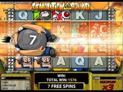 Demolition Squad Slot Machine Online ᐈ NetEnt™ Casino Slots