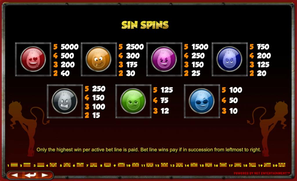 Devils Delight Slot Netent Free Spins