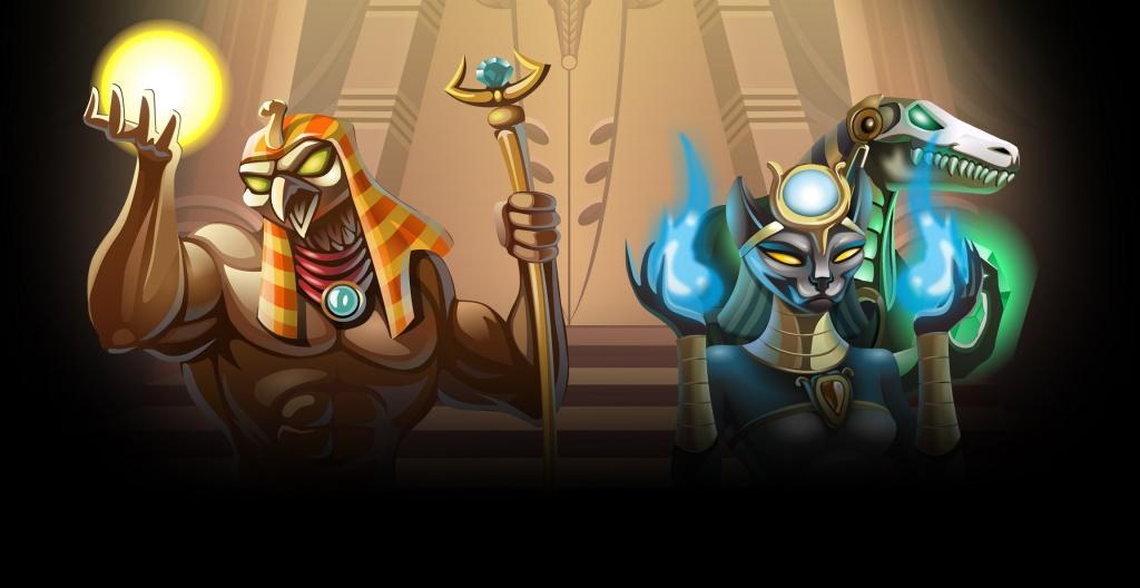 Egyptian Heroes Gokkast Netent Achtergrond