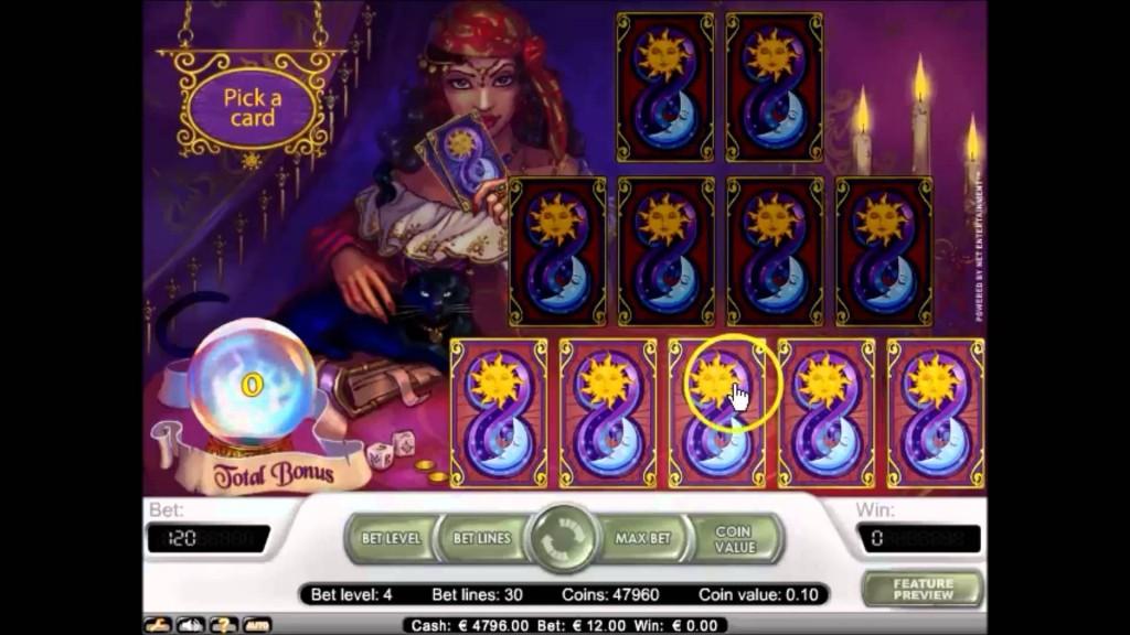 Fortune Teller Gokkast Netent Bonusgame