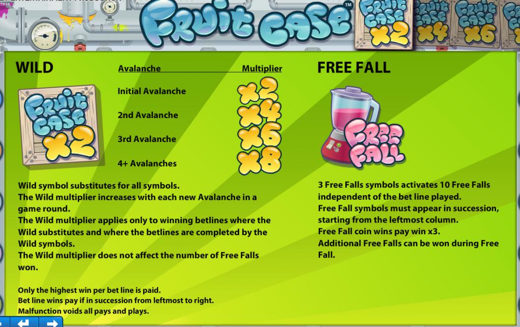 Fruit Case Gokkast Netent Wild