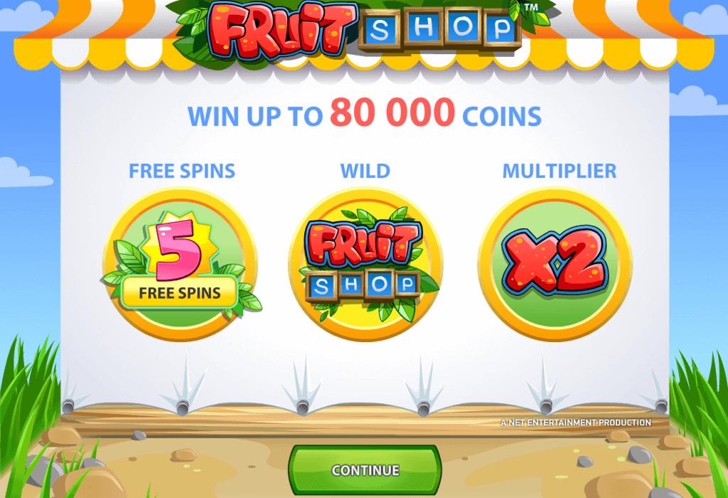 Fruit Shop Free Spins