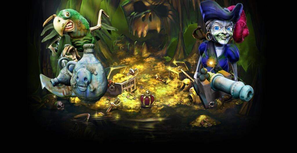 Ghost Pirates Gokkast Netent Achtergrond