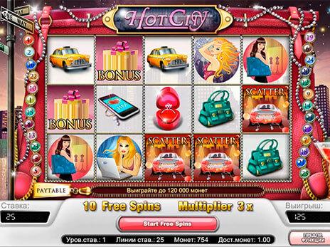 Hot City Gokkast NetEnt Free Spins