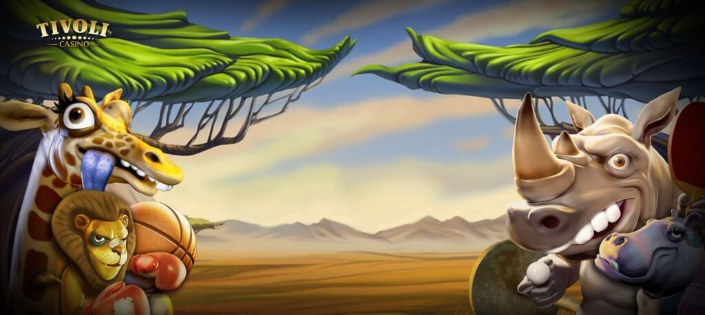 Jungle Games Gokkast Netent Achtergrond