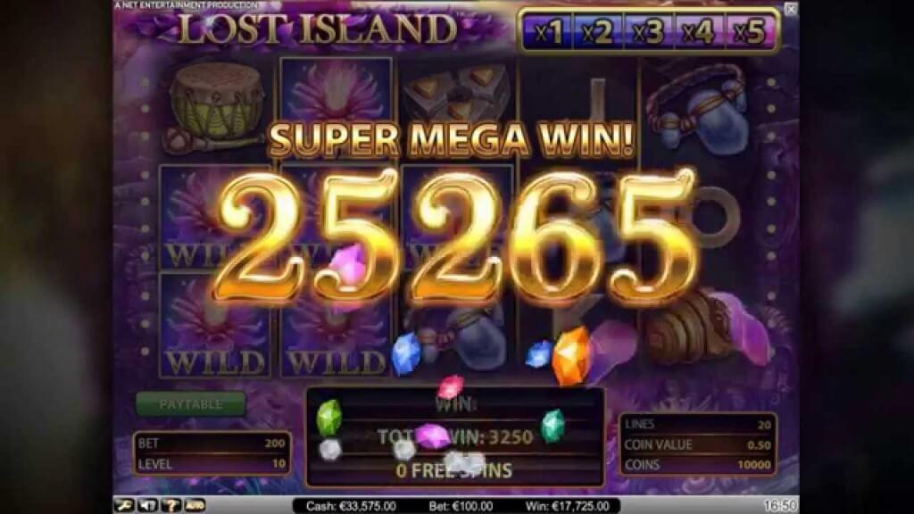 Lost Island Gokkast Netent Win