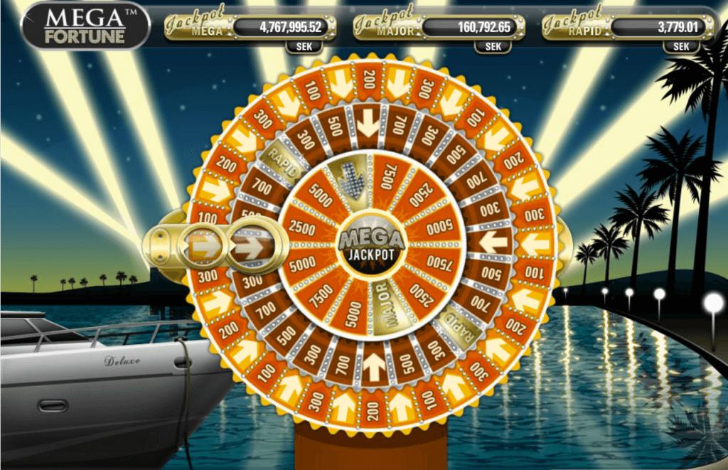 Mega Fortune Gokkast Netent Bonusgame