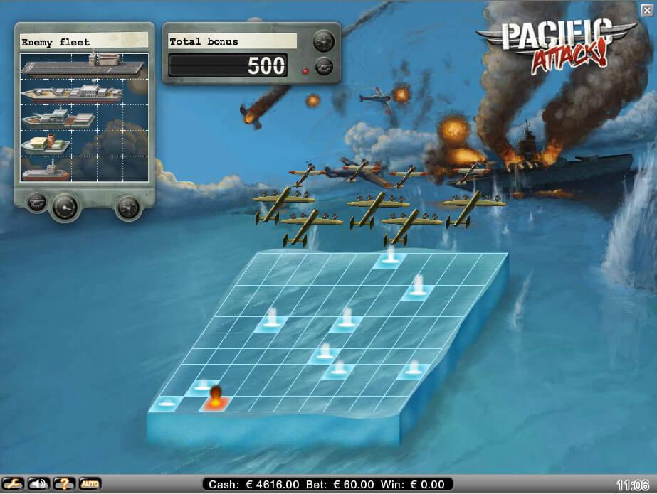 Pacific Attack Gokkast Netent Bonus Game