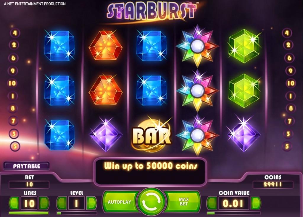 Hoe speel je Starburst