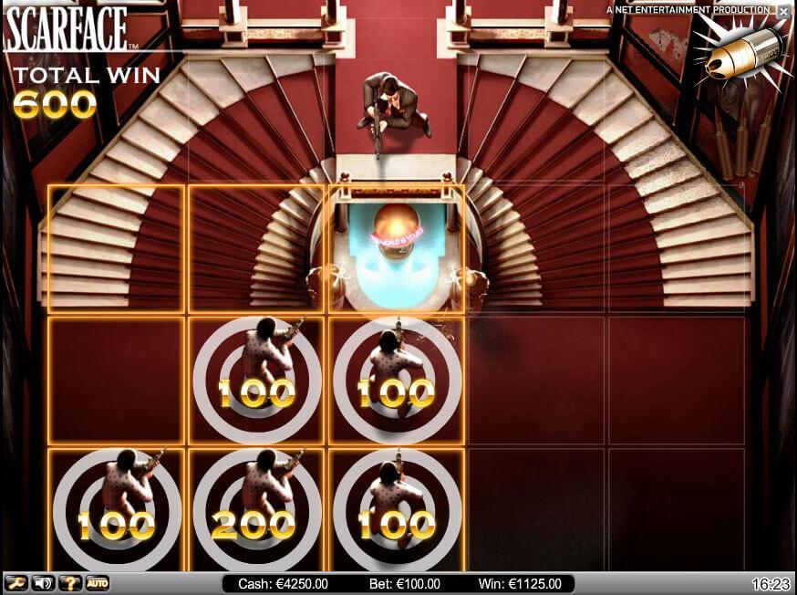 Scarface Gokkast Netent Bonusgame