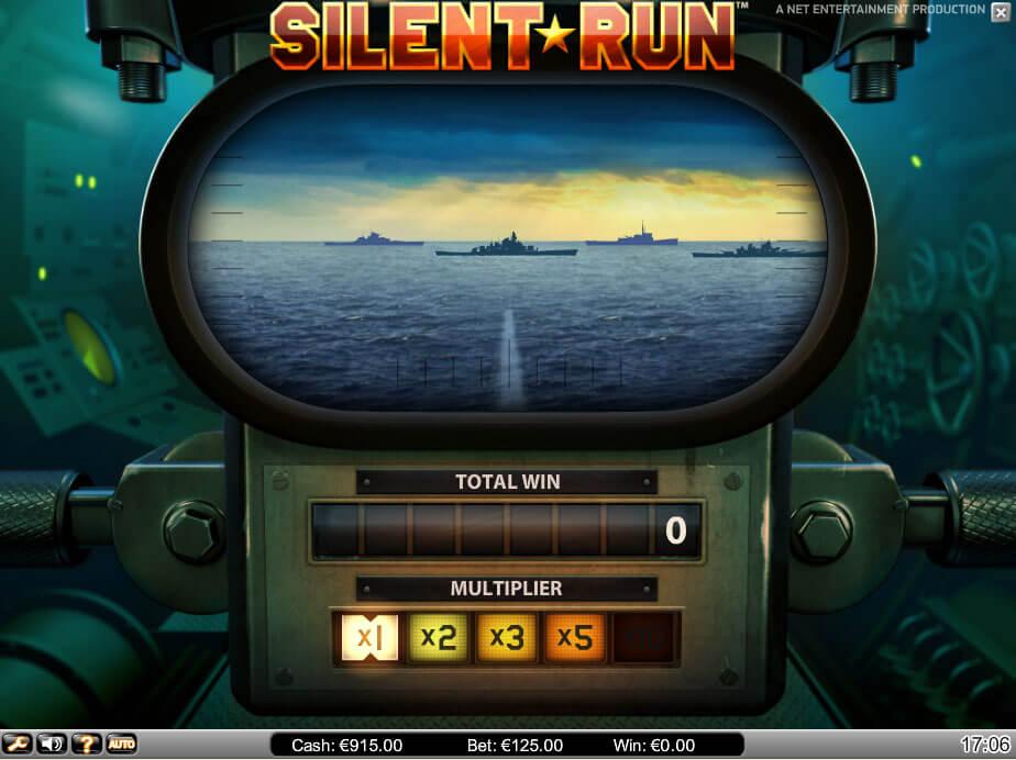 Silent Run Gokkast Netent Bonusgame