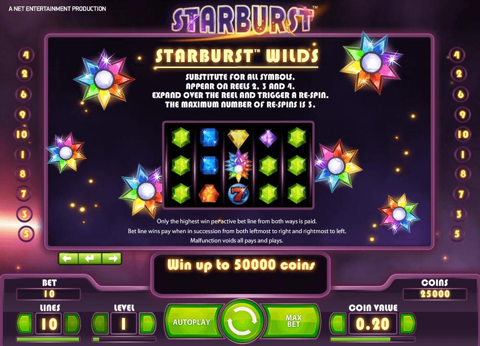 Starburst Gokkast Netent Spelregels