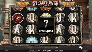 Steam Tower Gokkast Netent Free Spins