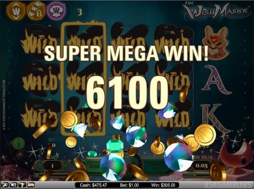 The Wist Master Gokkast Netent Big Win