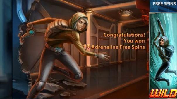 Thief Gokkast Netent Free Spins Adrenaline