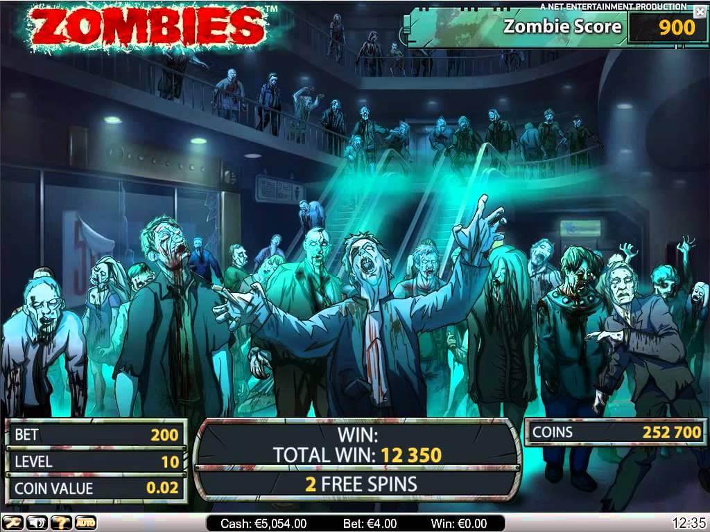 Zombies Gokkast Netent Free Spins