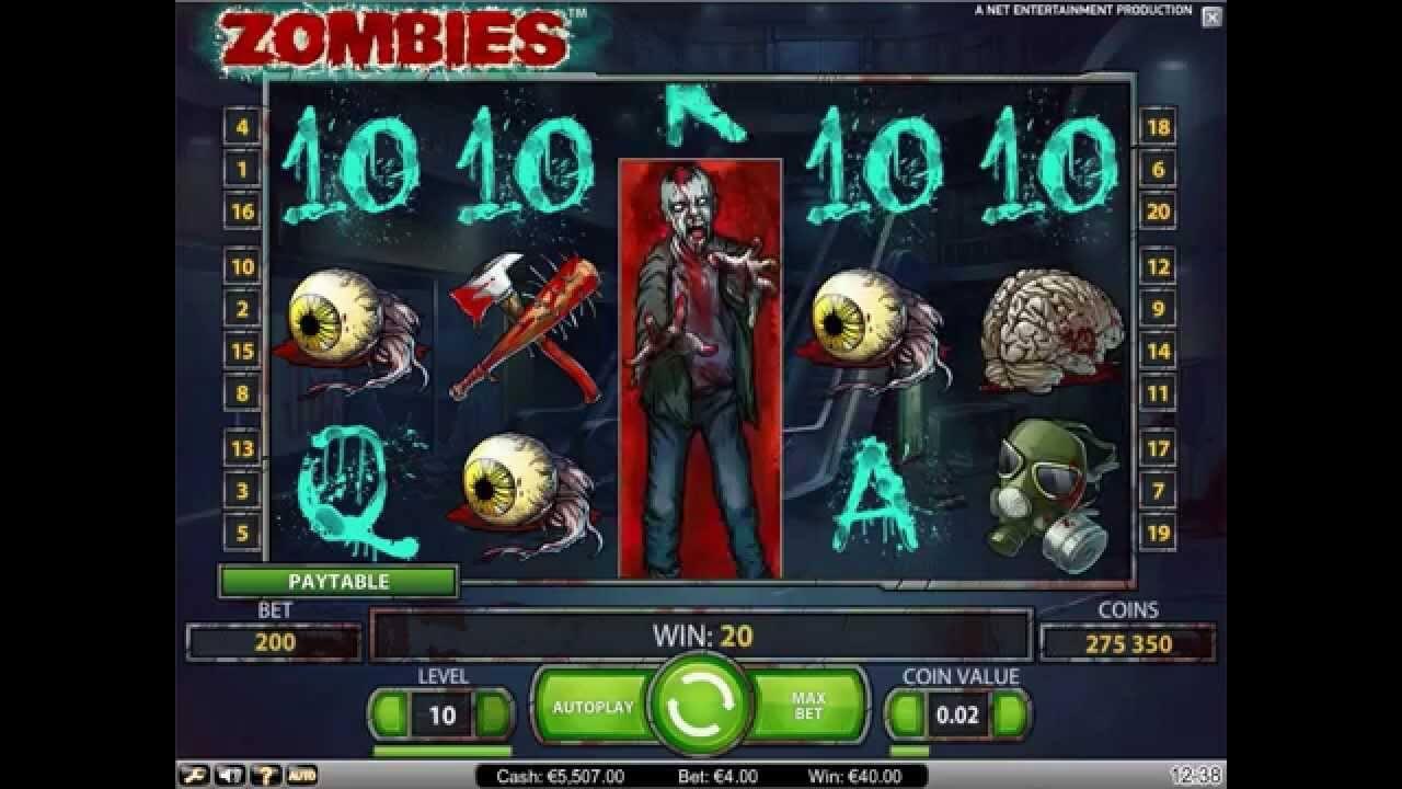 Zombies Gokkast Netent Wild