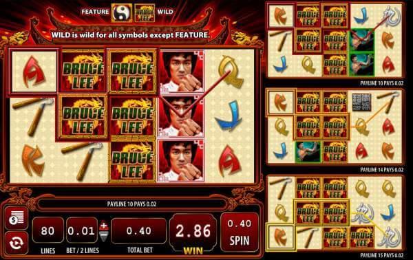 Bruce Lee2 Gokkast Symbol Switch