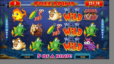 Fish Party slot Free Spins microgaming