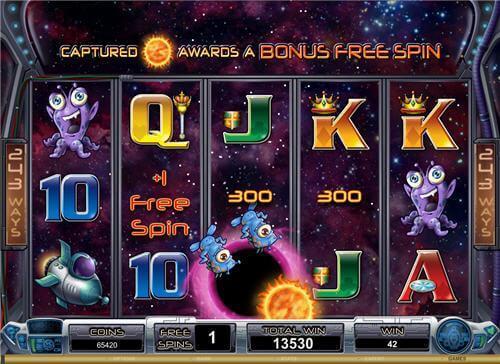 Galacticons Gokkasten Free Spins