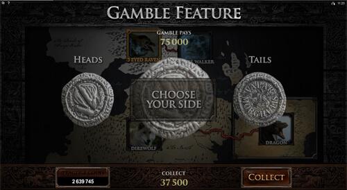 Game of Thrones Gokkasten Feature