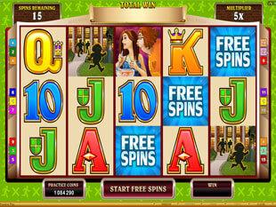 Georgie Porgie Slot Free Spins