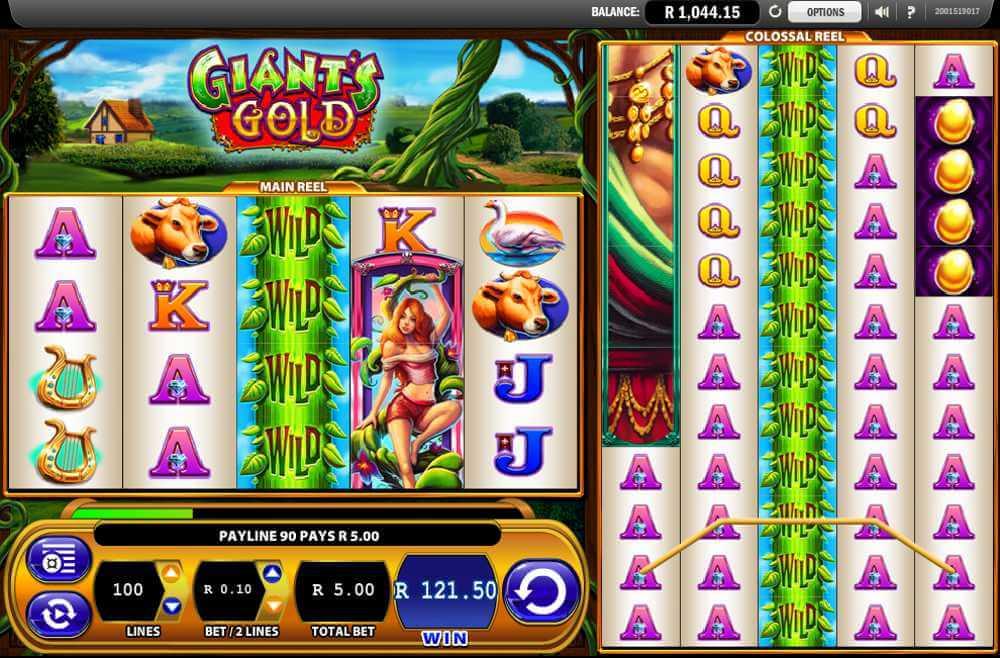 Giants Gold Gokkast Wild