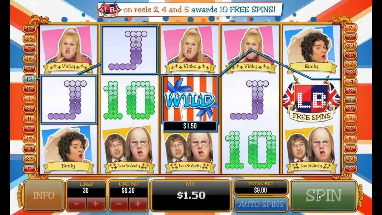 Hoe speel je Little Britain Ash Gaming Gokkast