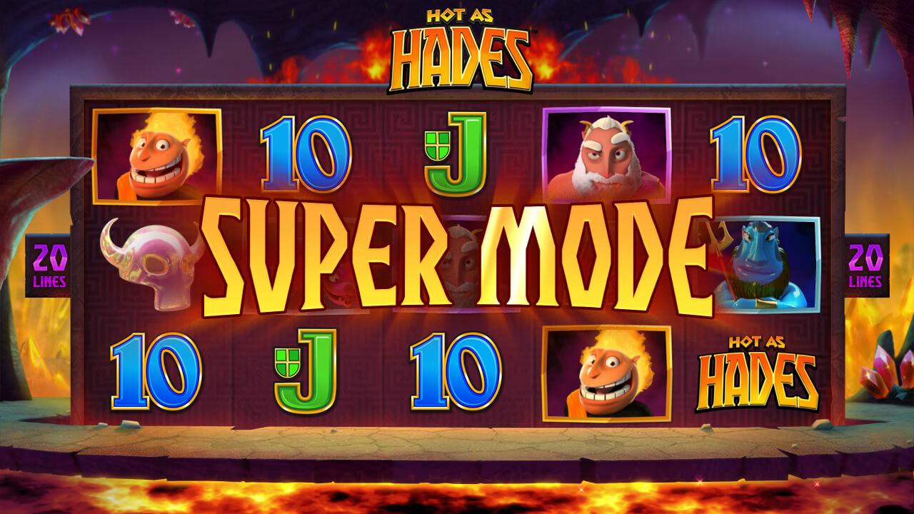 Hot as Hades slot Super Mode microgaming