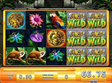 Jungle Wild Gokkast Free Spins