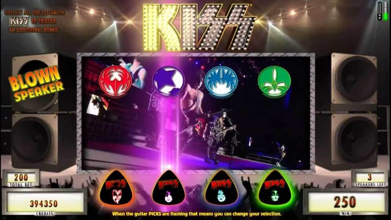 Kiss Gokkast Bonus