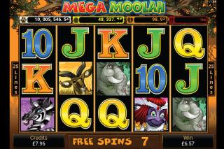Mega Moolah Gokkast Free Spins