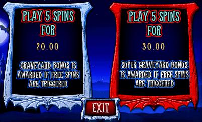 Ooh Aah Dracula Gokkast Free Spins