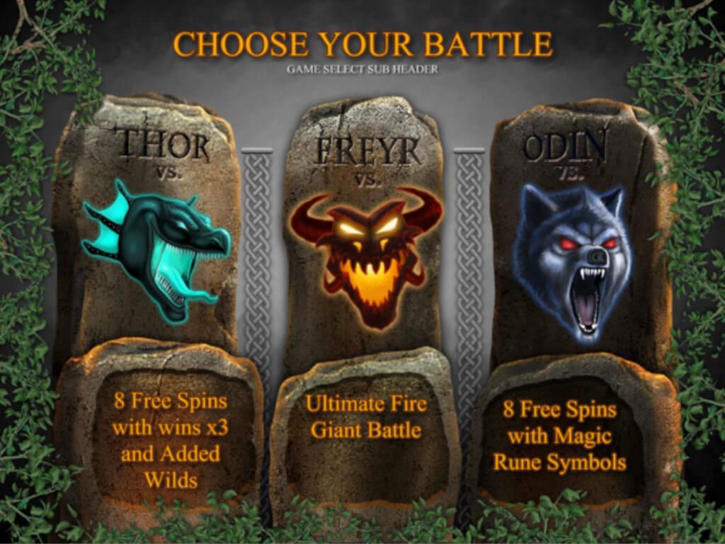 Ragnarok Bonus game