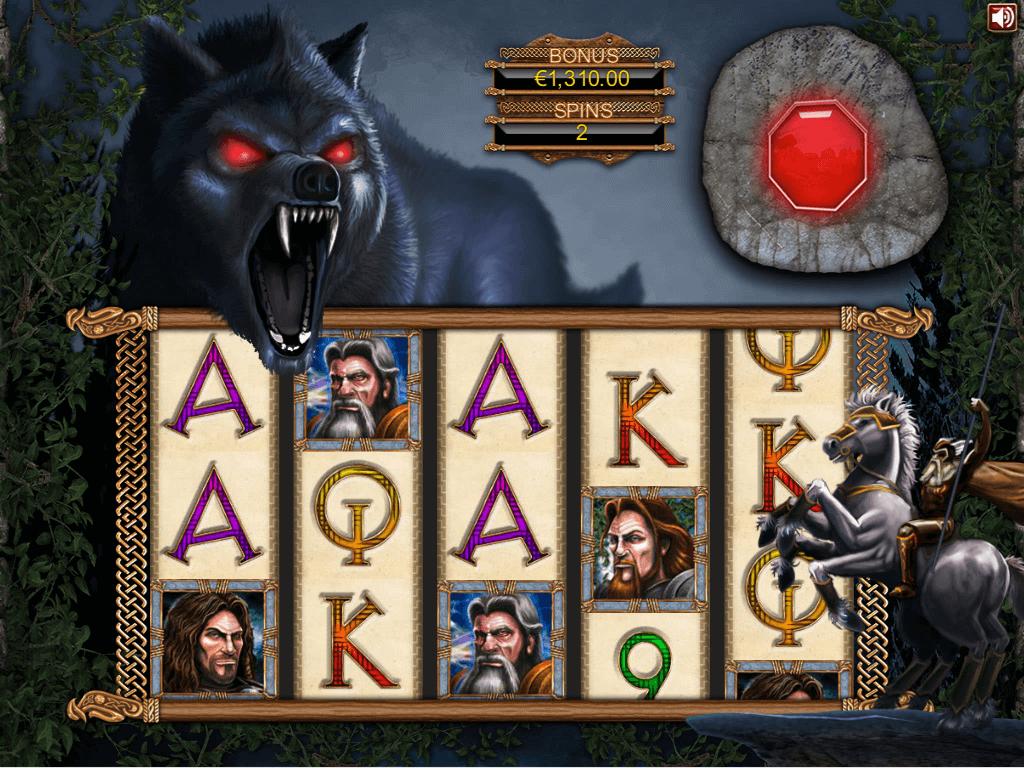 Ragnarok Gokkast Bonus game 3