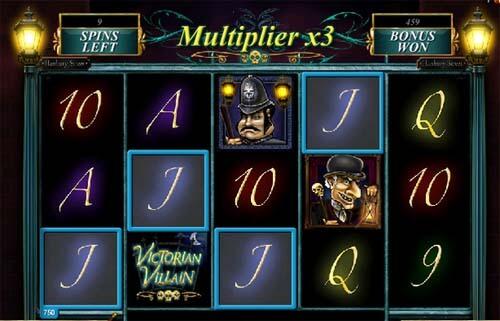 Victorian Villain slot Free Spins