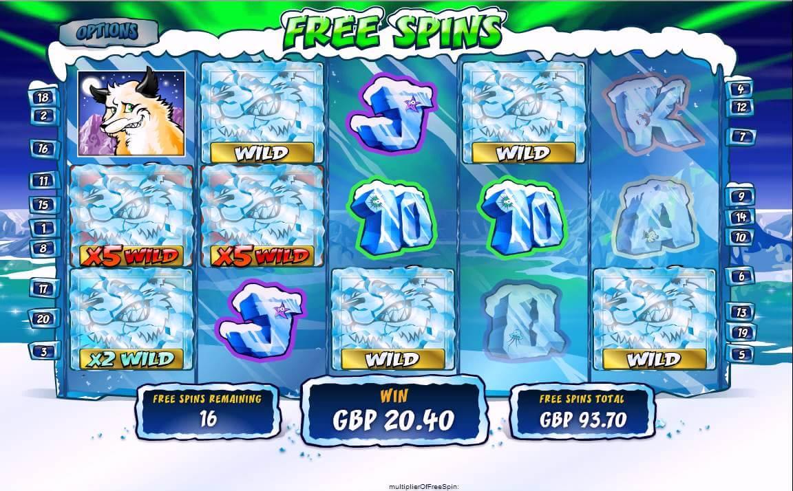 Wild Gambler Arctic Adventure Gokkast Free Spins
