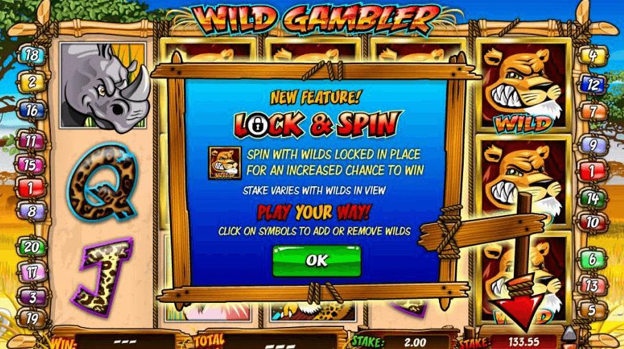 Wild Gambler Gokkast Wild