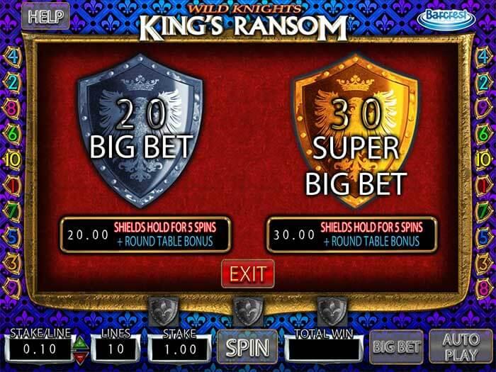Wild Knight barcrest Bet