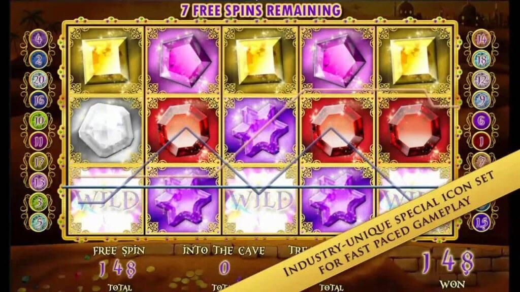 Aladdin's Legacy Amaya Gokkast Free Spins