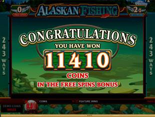 Alaskan Fishing Microgaming Gokkast Free Spins