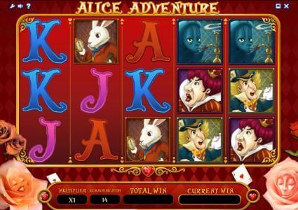 Alice Adventure slot Free Spins