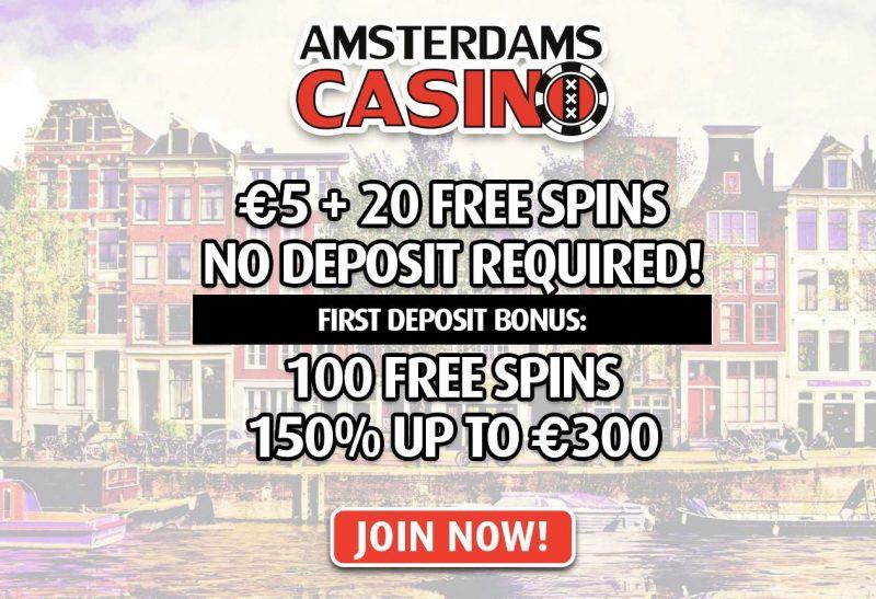 Amsterdams Casino Welkomstbonus