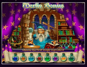 Bewitched slot Bonus game isoftbet