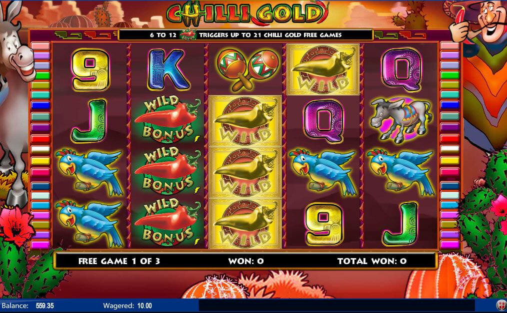 Chili Gold Amaya Gokkast Free Spins