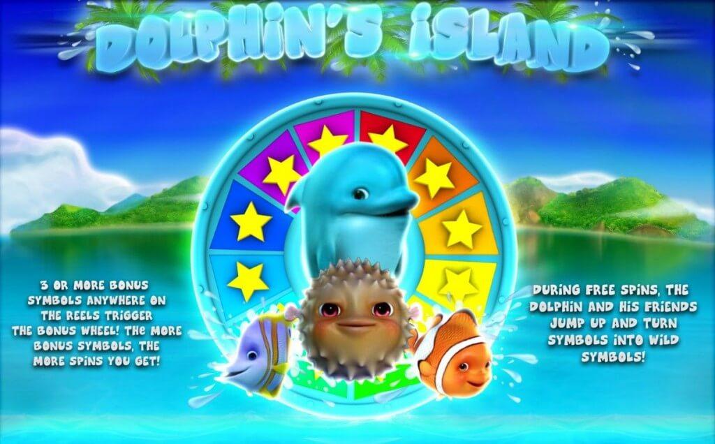Dolphins Island Bonus game