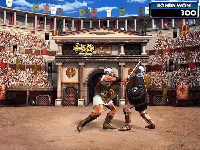 Gladiator Bonus game