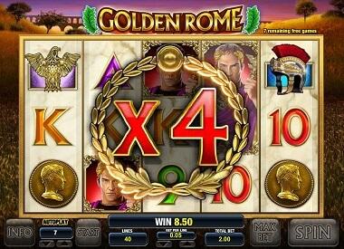 Golden Rome Gokkast Free Spins