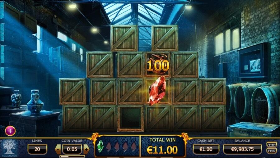 Holmes and the Stolen Stones Gokkast Bonusgame